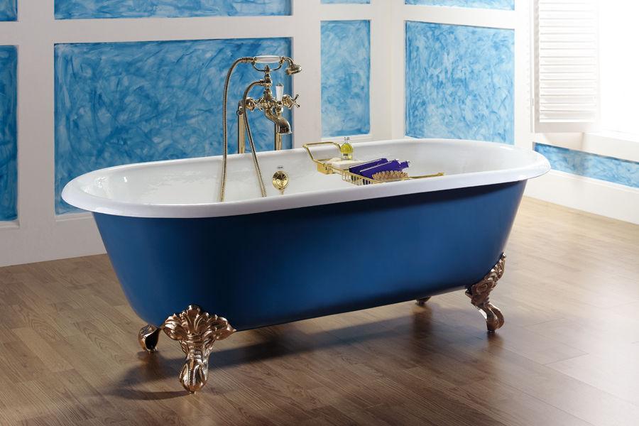 Vasca Da Bagno Napoli : Vasca bagno piedistallo ovale ghisa termoidraulica
